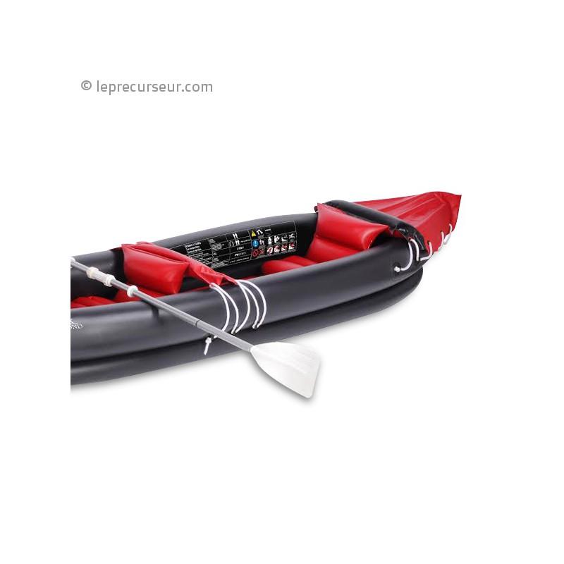 cano kayak gonflable 2 places avec accessoires. Black Bedroom Furniture Sets. Home Design Ideas