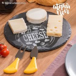 Service à fromage en ardoise