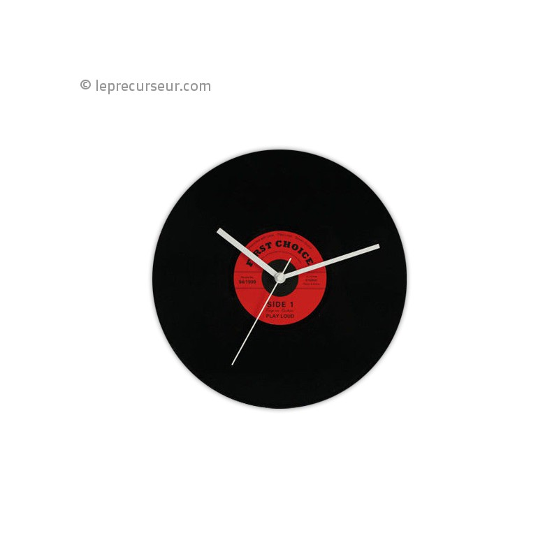 horloge murale disque vinyle. Black Bedroom Furniture Sets. Home Design Ideas