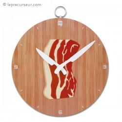 Horloge cuisine poitrine de porc