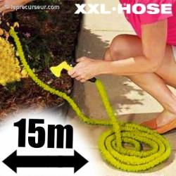 Tuyau d'arrosage extensible 15m et ses accessoires