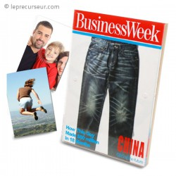Cadre à photo couverture de magazine BUSINESS Week