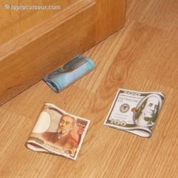 Bloque-porte billet de banque