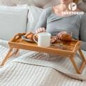Plateau repas au lit avec pieds pliables