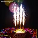 Bougies fontaine à étincelles