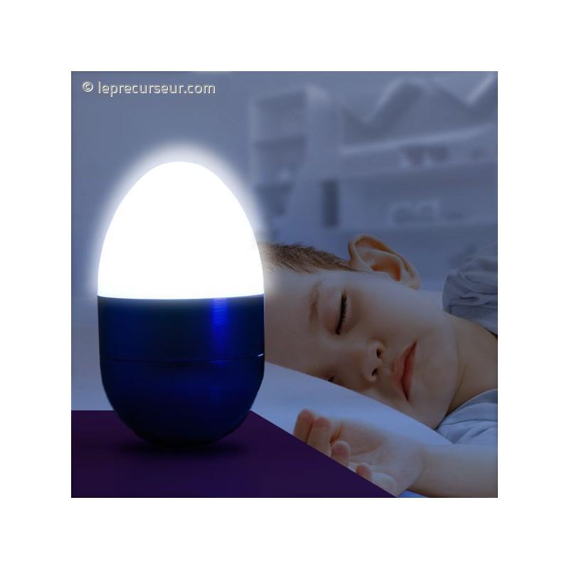 mini lampe led veilleuse en forme d 39 oeuf. Black Bedroom Furniture Sets. Home Design Ideas