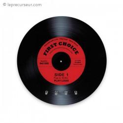 Accroche-clés apparence disque vinyle