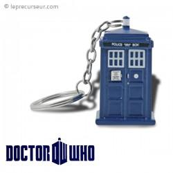 Porte-clés lumineux Tardis Docteur Who