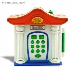 Tirelire banque avec ouverture par code