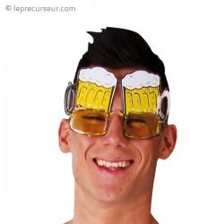 Lunettes pintes de bière