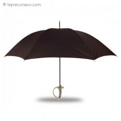 Parapluie avec manche de sabre