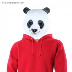 Masque tête panda