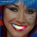 Dentier lumineux à LED coloré