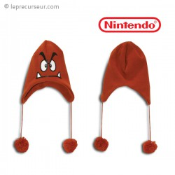 Bonnet avec cache oreilles Goomba Nintendo