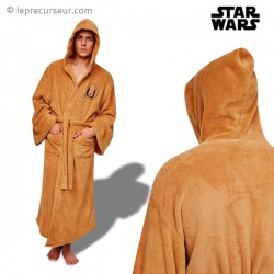 Peignoir marron Jedi Star Wars