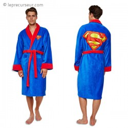 Peignoir motif Superman