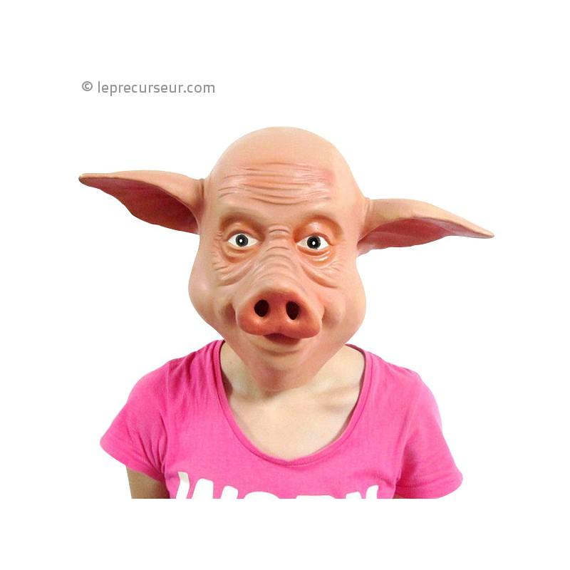 Cochon Image masque tête de cochon - leprecurseur