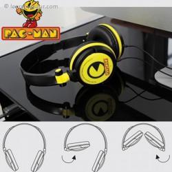 Casque audio Pacman pliable