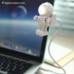 Lampe USB astronaute en plastique