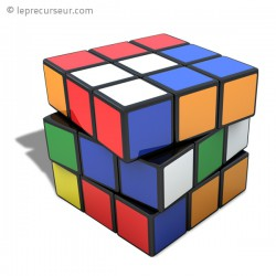 Casse-tête Rubik's cube 5,3cm