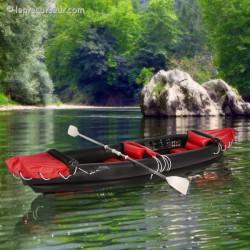 Canoë kayak gonflable 2 places avec accessoires