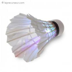Volant de badminton à LED