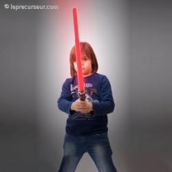Sabre laser en plastique avec effets sonores
