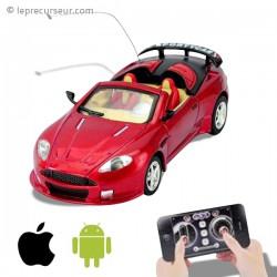 Mini voiture téléguidée Android iOS