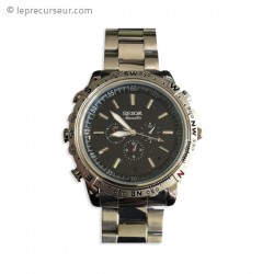 Bracelet montre avec caméra miniature intégrée