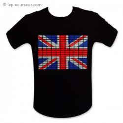 T-Shirt lumineux flag