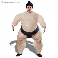Costume gonflable insolite sumo japonais