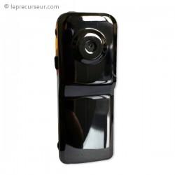 Petit caméscope noir métallisé