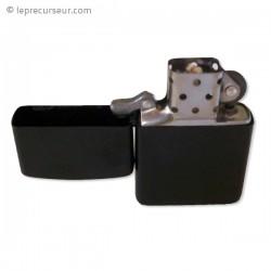 Faux briquet noir camera espionnage
