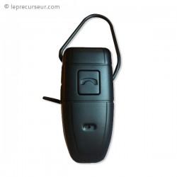 Caméra espion dans une oreillette