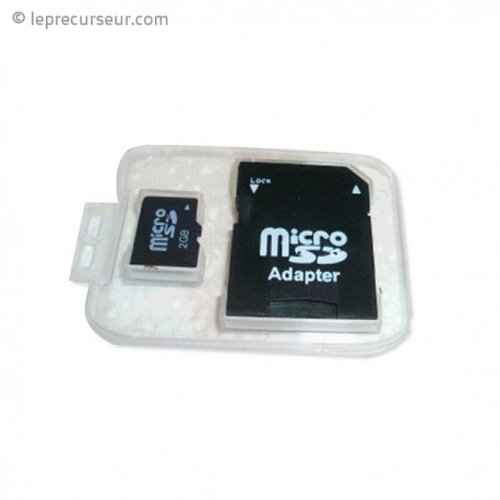 Micro SD card 2Go mobile et camera