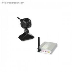 Kit caméra avec récepteur sans fil