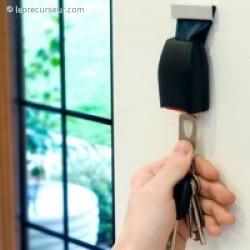 Accroche-clefs clip de ceinture de voiture
