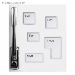 Magnets touche clavier d'ordinateur