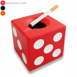 Cendrier original cube dé