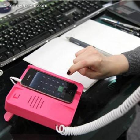 Socle téléphone fixe pour Smartphones