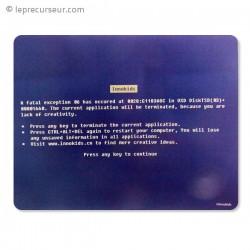 Tapis de souris Error écran bleu