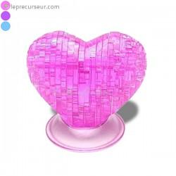 Puzzle 3D cœur