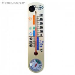 Thermomètre mural Caméra espion