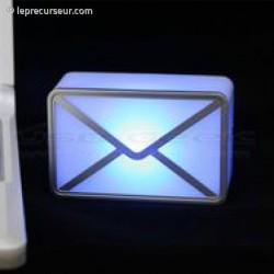 Gadget mail alarme
