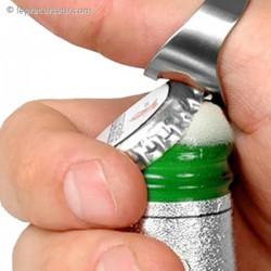 Bague ouvre bouteille
