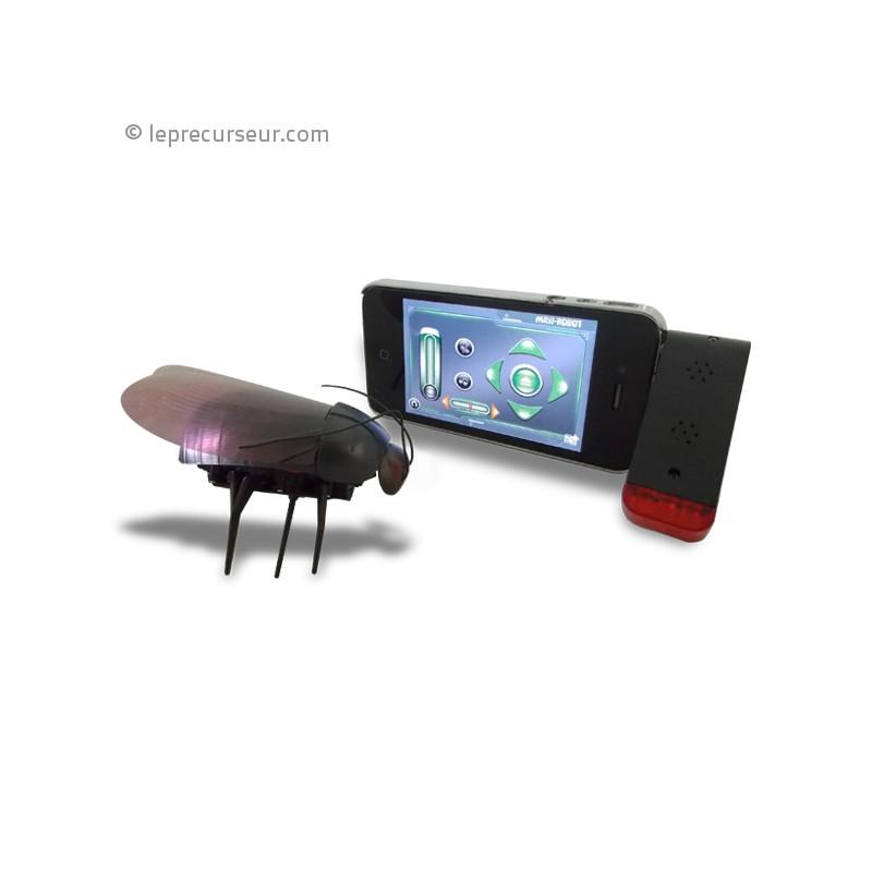 cafard t l command par iphone. Black Bedroom Furniture Sets. Home Design Ideas