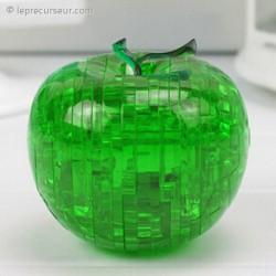 Jeu casse tête 3D pomme