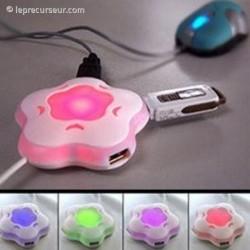 Multiplicateur USB en fleur