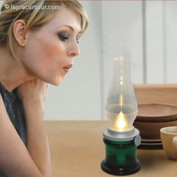 Lampe à allumage au souffle