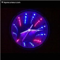 Horloge design à LED